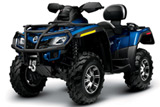 Limited Edition ATV Outlander Max 800 Side