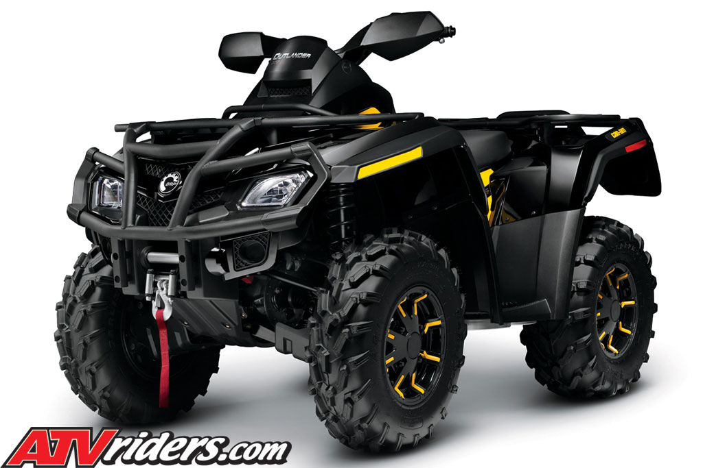 2011 Brp Can Am Outlander Utility Atv Max Package