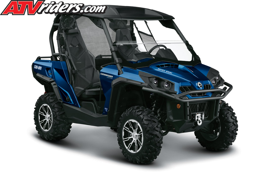 2012 Can-Am Commander 1000 EFI 4x4 Limited UTV- Features, Benefits