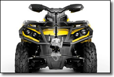 Can-Am Outlander ATV Air Box