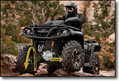 2012 BRP Can-Am Outlander ATV