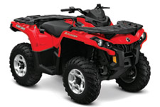 2012 Can-Am Outlander 1000 Utility ATV