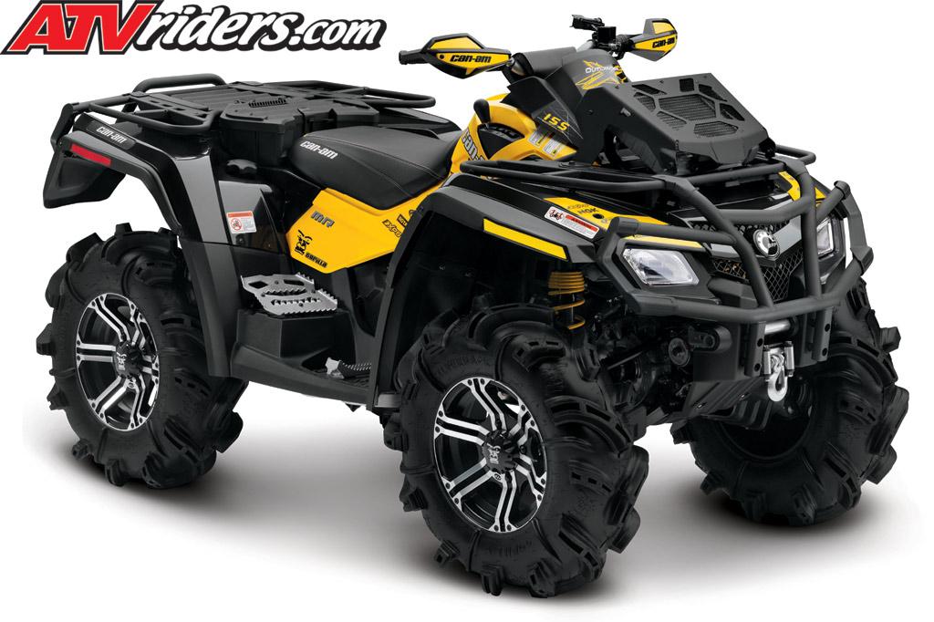 atv am outlander 800r 4x4 canam utility mr atvs efi mud yellow wheeler four sxs riding ne xc atvriders