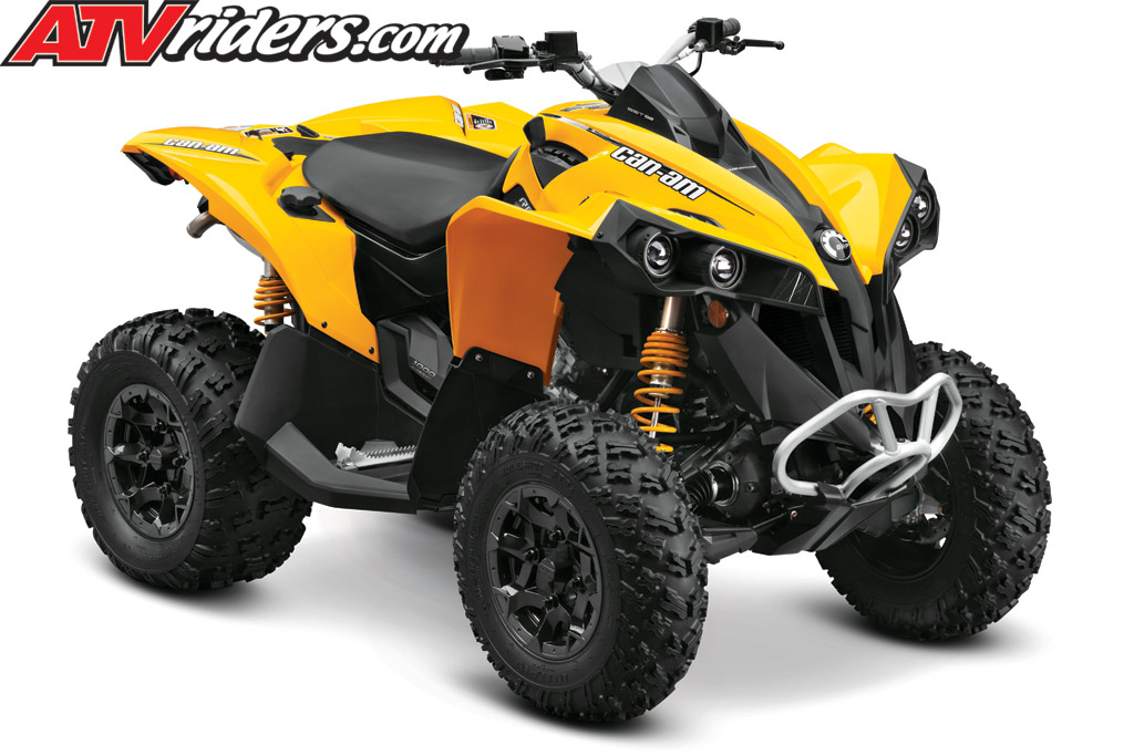 2012 Can-Am Outlander 1000 & Renegade 1000