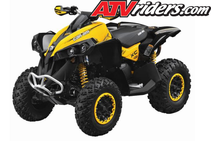 2012 Can-Am Outlander 1000 XT or Renegade 1000 X xc Sport Utility ATV