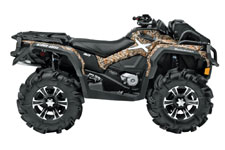 2013 Can-Am Outlander 1000 X mr Utility ATV NEXT G-1 Vista camouflage