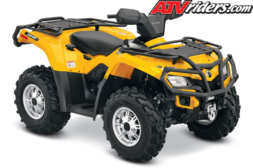 2013 can am outlander 400 efi 4x4 utility atv features benefits and specifications. Black Bedroom Furniture Sets. Home Design Ideas