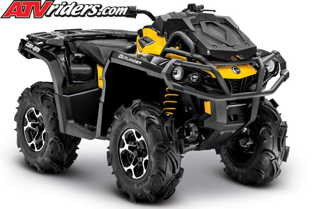2013 Can-Am Outlander 650 X mr EFI 4x4 Utility ATV