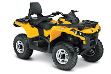 2013 Can-Am Outlander MAX 650 DPS Utility ATV