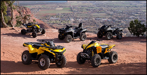 Can-Am Outlander & DS450 ATV Family Models