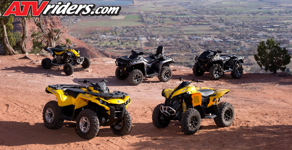 can am outlander amp ds450 atv family models 2012 can am commander ...