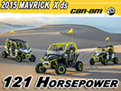 2015 Can-Am Maverick X ds