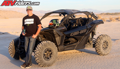 Monster Matt Burroughs To Compete In The 2017 Best Desert Racing Series New Can Am Maverick X3 X Rs Side By Vehicle
