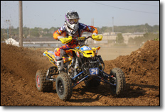 Can-Am's Cam Reimers ATV Racer