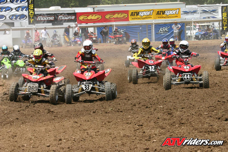Cobra Mini ECX70 ATV's dominating in the AMA ATV Racing Series