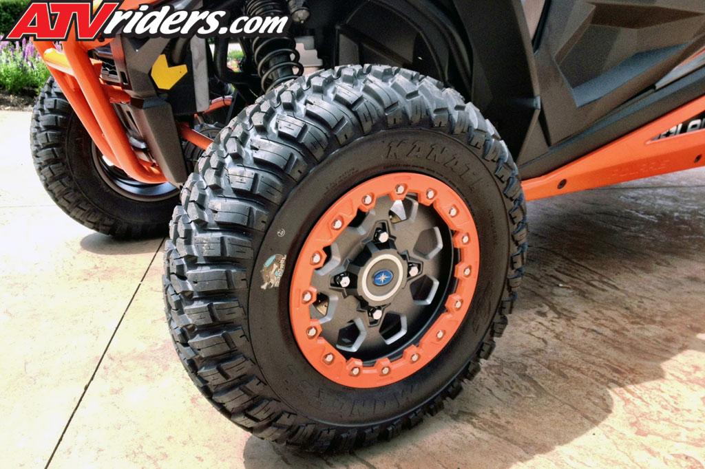 GBC Kanati Mongrel Tire Upgrade on Polaris RZR XP 1000