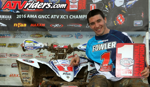 Walker Fowler GNCC Racing Champion