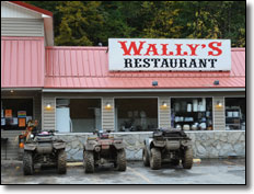 Hatfield McCoy Wally's Restaurant