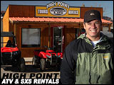High Point Hummer and ATV Rental Guided Tours Moab, Utah
