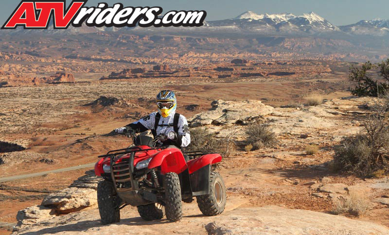 Highpoint Hummer Atv Moab Utah Honda Rancher Atv Mountains