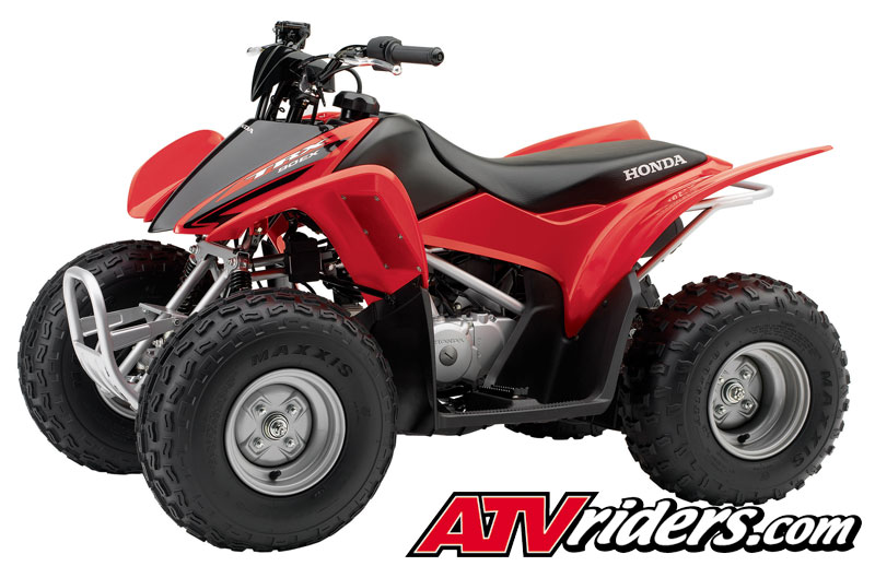 honda trx  youth mini sport atv features benefits  specifications