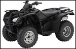 Honda TRX420 ATV Black