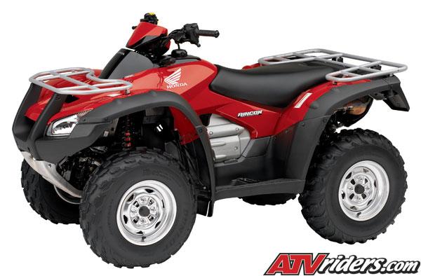 2009 Honda FourTrax Rincon / Rincon GPScape Utility ATV - Features ...