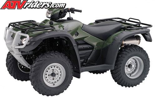 2011 Honda FourTrax Foreman 4x4 Utility ATVs Announced - AT & ES ...