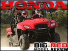 2011 Honda Big Red 700 4x4 MUV / SxS Test Drive Review