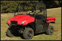 2011 Honda Big Red MUV SxS / UTV