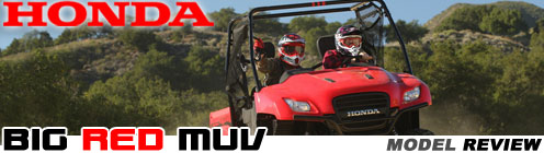 2011 Honda Big Red 700 MUV Drive Test Review