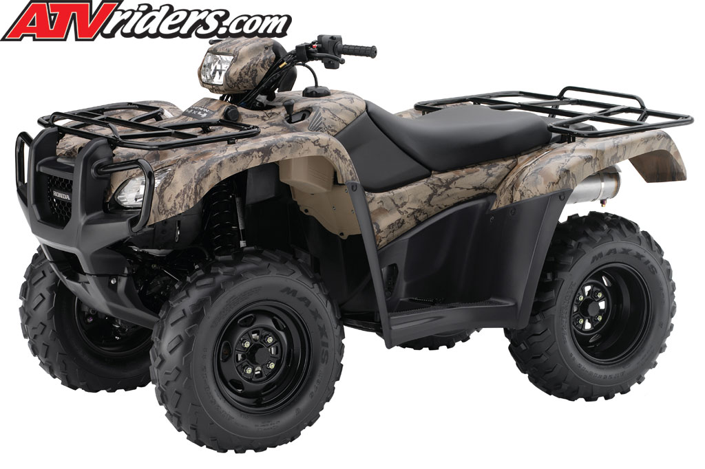 quading by best model deluxe honda foreman atv canada rubicon dct side shown