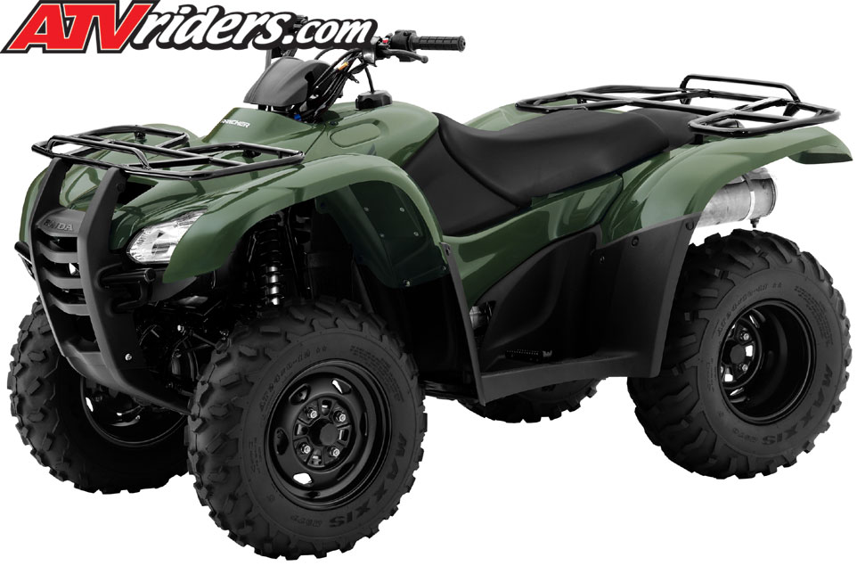 2012 Honda Utility ATV & MUV Model Lineup - Rincon, Rancher, & Foreman, Recon, Big Red ATV & MUV ...