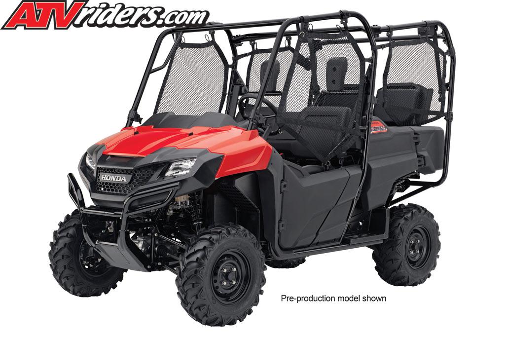 2014 Honda Pioneer 700 4 Review