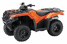 2014 Honda Rancher Foreman Utility ATV Models