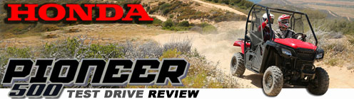 2015 Honda Pioneer 500 Review