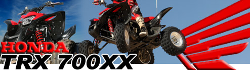 2008 Honda TRX 700XX IRS Sport ATV Test Ride Review