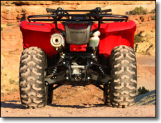 2009 Honda Rancher 420 AT ES Utility ATV