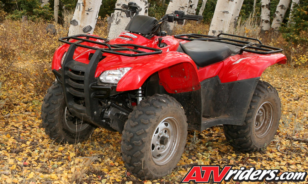 Honda 420 Rancher >> 2009 Honda Rancher 420 At Es Utility Atv Test Ride Review