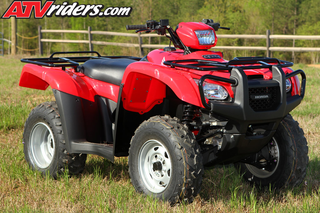 2012 Honda Foreman 500 4x4 Es Utility Atv Test Ride Review
