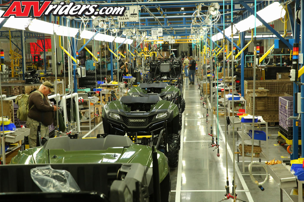 The Honda South Carolina Facility Production Facility Builds 21 Different  ATV And SxS Vehicles That Ship Around The World