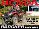 2014 Honda Rancher Review