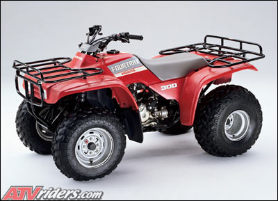 honda 1988 fourtrax300 trx300 utility atv looking back 1988 honda fourtrax 300 and 300 4x4 atv's 1993 honda fourtrax 300 wiring diagram at fashall.co