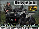 Kawasaki Brute Force 750 ATV & Dual Shot Outdoors Turkey Hunting