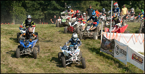 IXCR Youth ATV Class Starting Line
