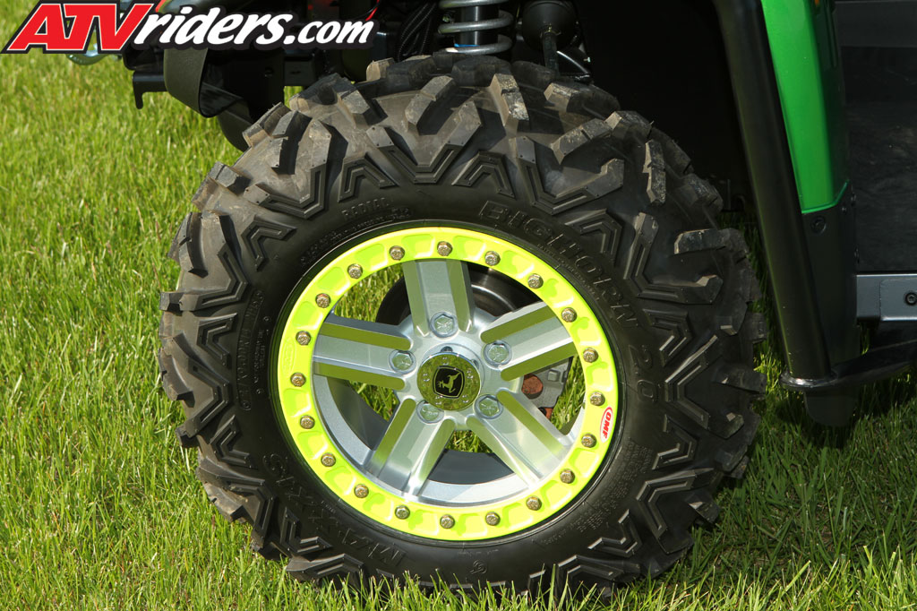 John Deere stock wheels were converted by OMF performance integrate ...