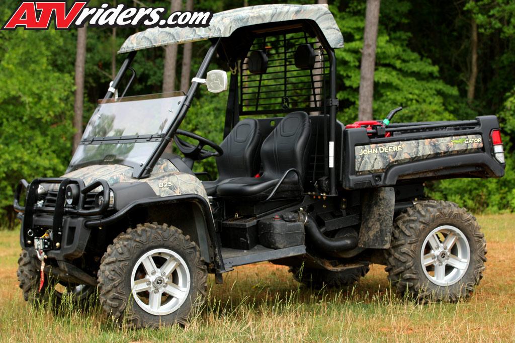 2011 John Deere Gator XUV 825i  855D UTV Test Ride Review