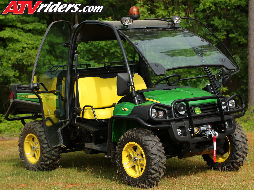 2011 John Deere Gator Xuv 825i Amp 855d Utv Test Ride Review