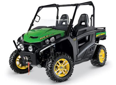 John Deere Gator Rsx 850I Sport Green Yellow 400
