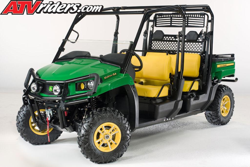 John Deere Xuv 550 Roof >> John Deere Gator Xuv 550 500 S4 Utility Vehicle Uv Announced